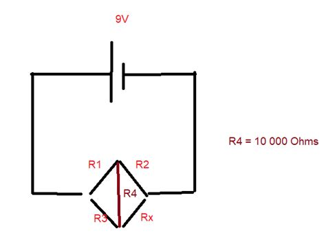 wheatstone bridge with resistor in middle find all resistor values in the wheatstone bridge physics forums the fusion of science and
