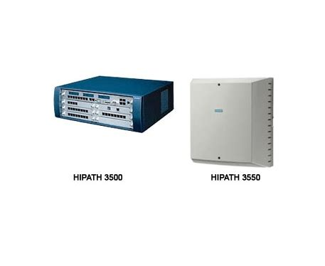 Pabx Hybrid Unify Siemens ip pbx hipath 3000 3500 3550 pbx telephone system