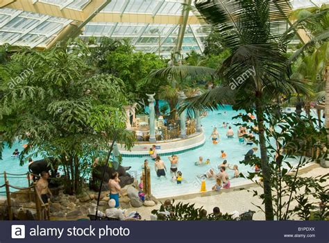 centre uk swimming pool at center parcs at elveden near thetford uk