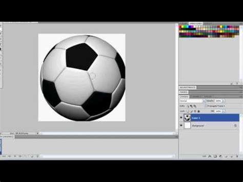 cara membuat id card bola cara membuat animasi bola di photoshop youtube