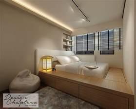Bed Frame Design For Small Room Inspiring Platform Bed Idea You Can Steal