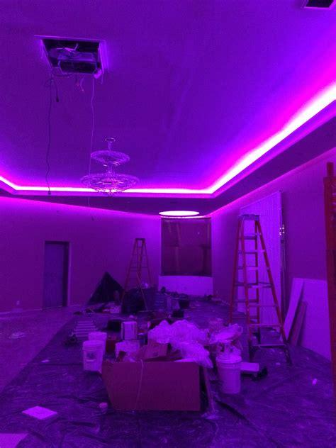 led tape  soffet millions  millions  colors led ledlighting colors cateringhall