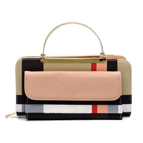 Clutch Cross Wallet top handle cross bodybag clutch wallet wallets