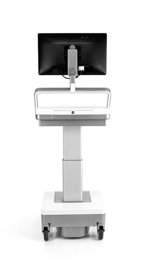 b med mobile humanscale s t7 touchpoint mobile technology cart