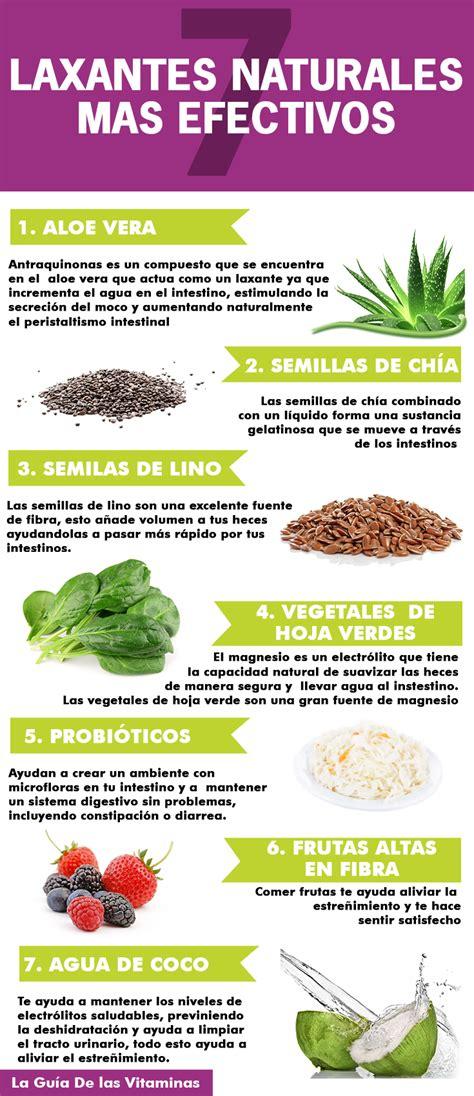 los 16 alimentos que hacen los mejores laxantes naturales