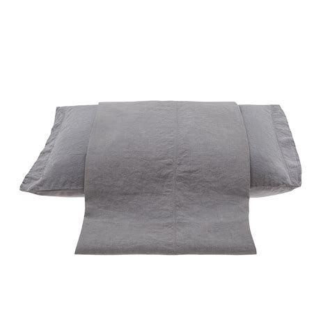 Washed Linen Duvet Cover King by Washed Linen Duvet Cover Coincasa