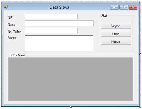 membuat database vb dengan mysql membuat sistem database dengan vb net dan database mysql