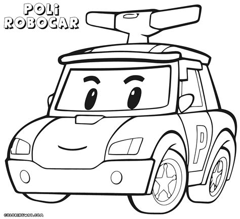 i coloring robocar poli coloring pages coloring pages to