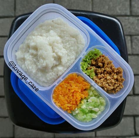 diet makanan lunak  makanan saring bubur nasi