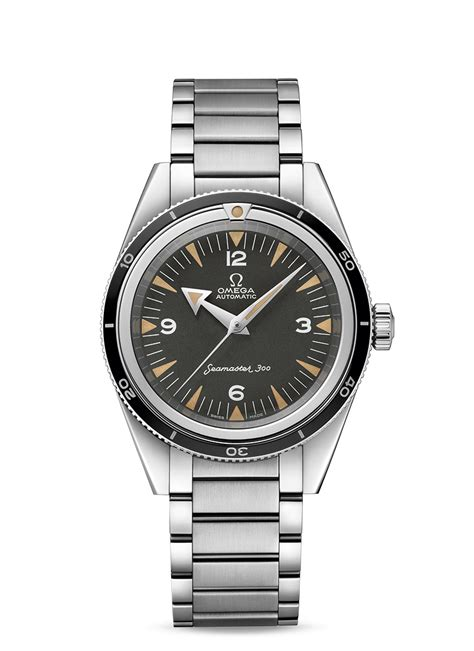 234.10.39.20.01.001 : Omega Seamaster 300 Master Co Axial Stainless Steel / Black / Bracelet