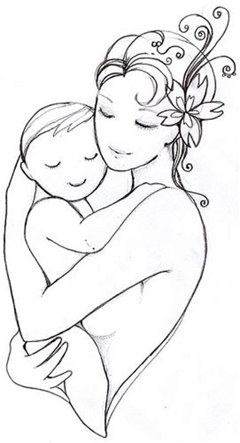 mermaid s sketch flickr photo sharing mother child