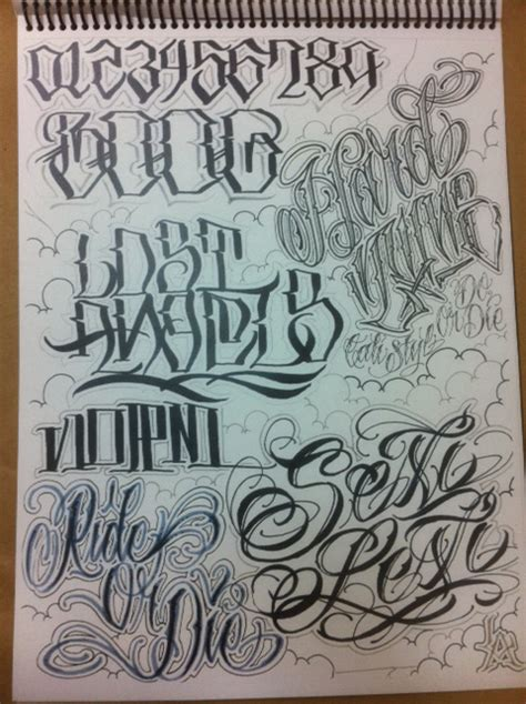 Write To Live Big Sleeps X Boog X Norm Awr Flash Book Tattoos Lettering And Numbers