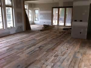 reclaimed barnwood flooring rustic flooring house