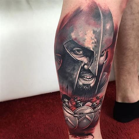 kick ass tattoos when gives you a battle be a spartan and kick