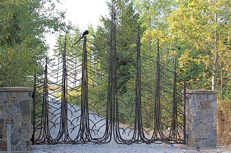 wrought iron fence lighting iron design center nw lighting gates doors