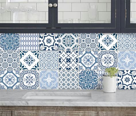 Adhesive Backsplash Tiles For Kitchen cuisine salle de bains carrelage autocollants vinyle