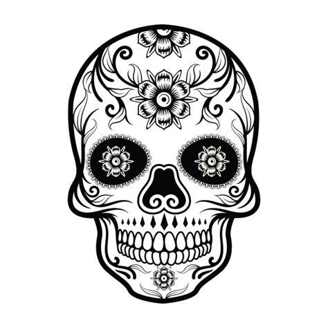 imagenes de calaveras revolucionarias dise 241 o de calavera mexicana descargar vectores gratis