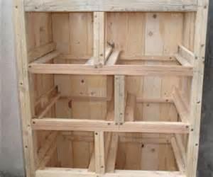 fabriquer meuble chaussure en bois
