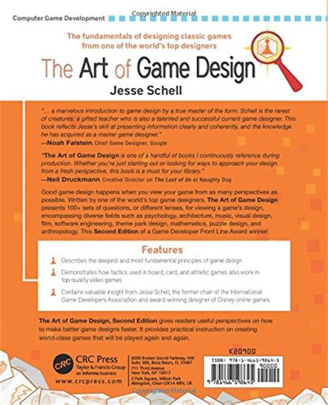book layout rates the art of game design a book of lenses second edition