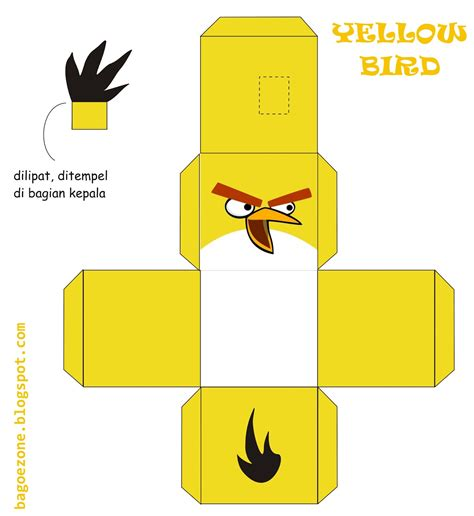 bagoezone angry birds origami