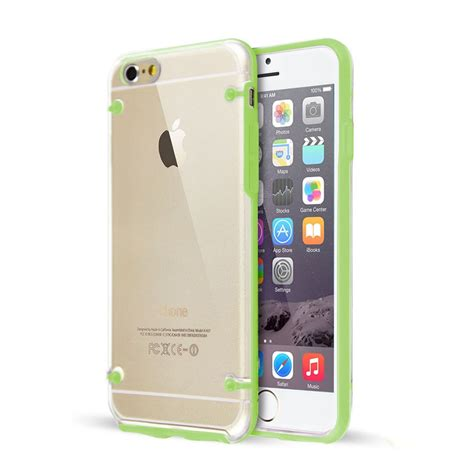 Bumper Backcase Tipe Iphone 6 Clear Back Silicone Tpu Bumper Cover For Iphone