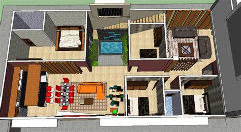 layout ruangan rumah renovasi rumah multidesain arsitek