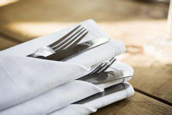 Folding Silverware Into Paper Napkins - how to fold paper napkins with silverware home guides