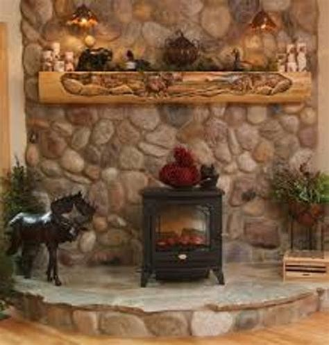idea for wood furnace design how to decorate a rustic fireplace mantel 5 guides for