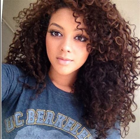mixed women curly hairstyles inspiration mixed beauty