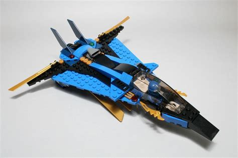 lego  ninjago jays storm fighter  brick city