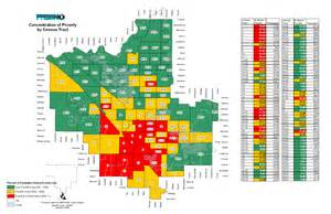 Fresno Zip Code Map by Poverty In Fresno Concentrated The Well Exposure