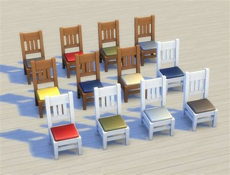 mega dining chair recolours override by plasticbox at mod