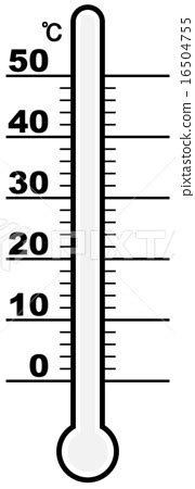 thermometer coloring coloring pages