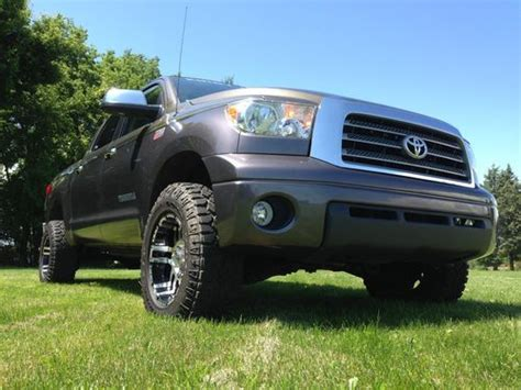 manual cars for sale 2008 toyota tundramax seat position control buy used 2008 toyota tundra trd limited crew max 4x4 lifted custom paint in bannister michigan