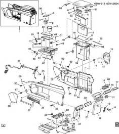 Buick Rendezvous 2002 Parts Buick Rendezvous Console Floor