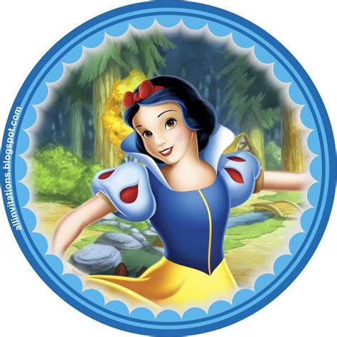 disney princess a magical 1608875539 plantilla boton princesa blancanieves princess blanca nieves snow white snow