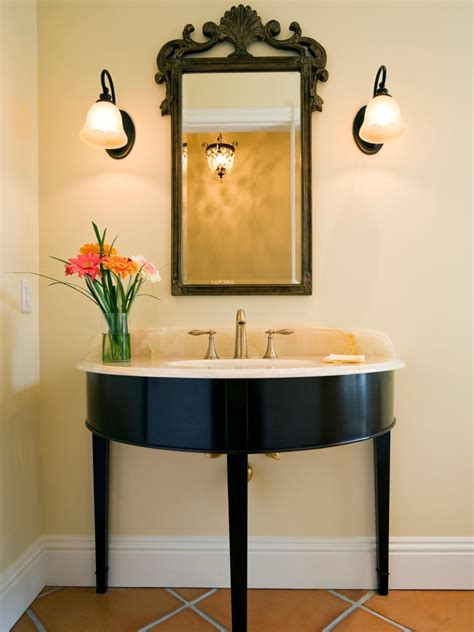 Adding A Powder Room Cost redecorating a powder room on a budget hgtv