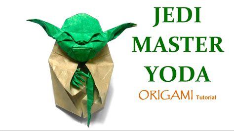 Origami Master Yoda - origami jedi master yoda tutorial fumiaki kawahata 折り紙