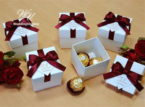 Wedding Favor Boxes Ideas by Wedding Bonbonniere Wedding Favor Boxes By