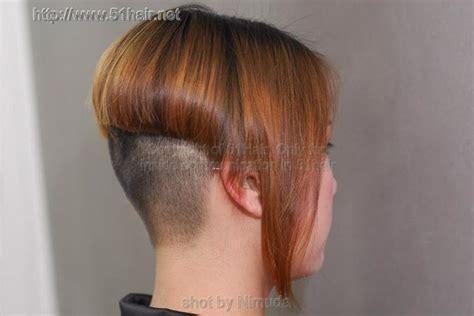 steep hair cut steep angle inverted bob haircut very radical look
