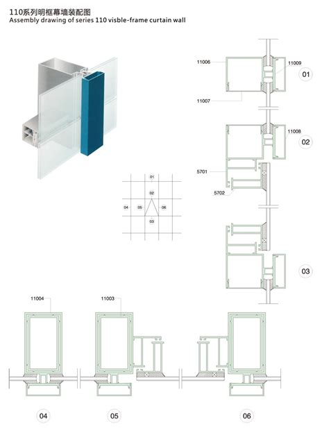 frame and curtain wall curtain wall greenland metal