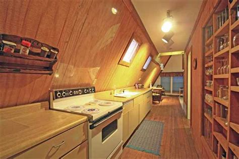 a frame kitchen ideas little cabin in the woods