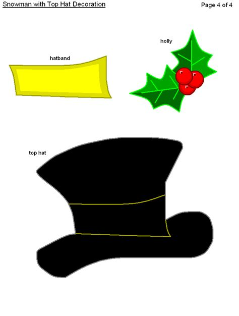 Top Hat Template For by Search Results For Snowman Top Hat Template Printable