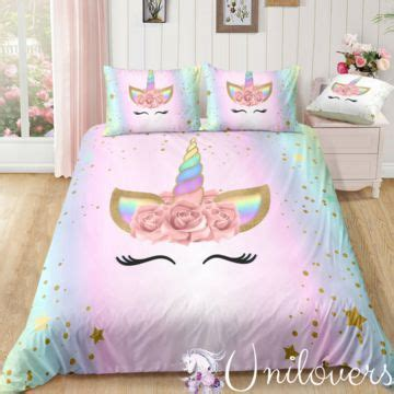 dreaming star unicorn bedding set unicorn madness