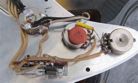 vintage stratocaster wiring fender american standard