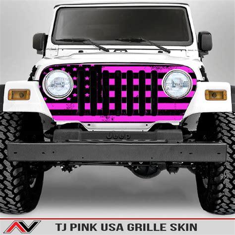 jeep grill skin jeep wrangler tj grille skin usa alphavinyl
