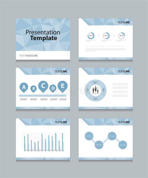 design concept presentation template vector template presentation slides background design info