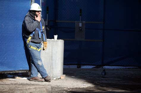 deutsche bank banging on site an inside look at one world trade center wnyc