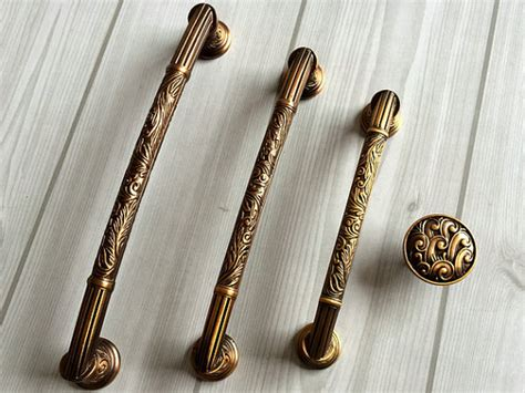 antique brass kitchen cabinet hardware aliexpress com buy dresser pull drawer handles pulls