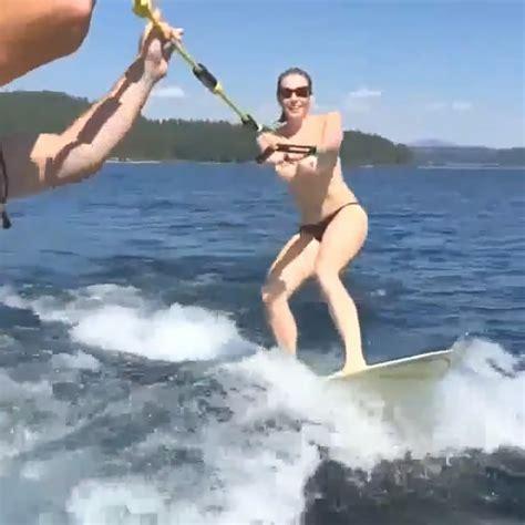 Naked Water Skiing Xxgasm